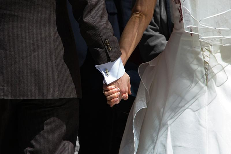 Couple with Hands Together