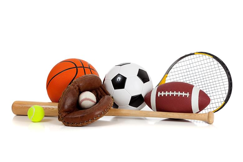 bigstock-Assorted-Sports-Equipment-On-W-6428821