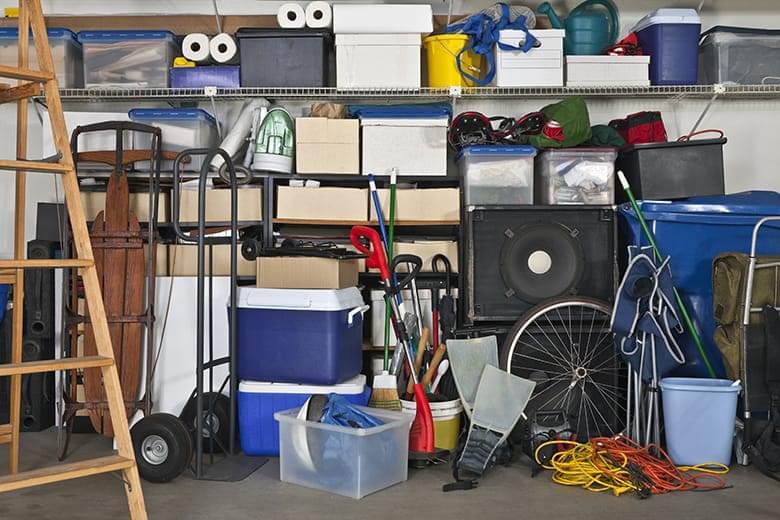bigstock-Overloaded-suburban-garage--B-19281161