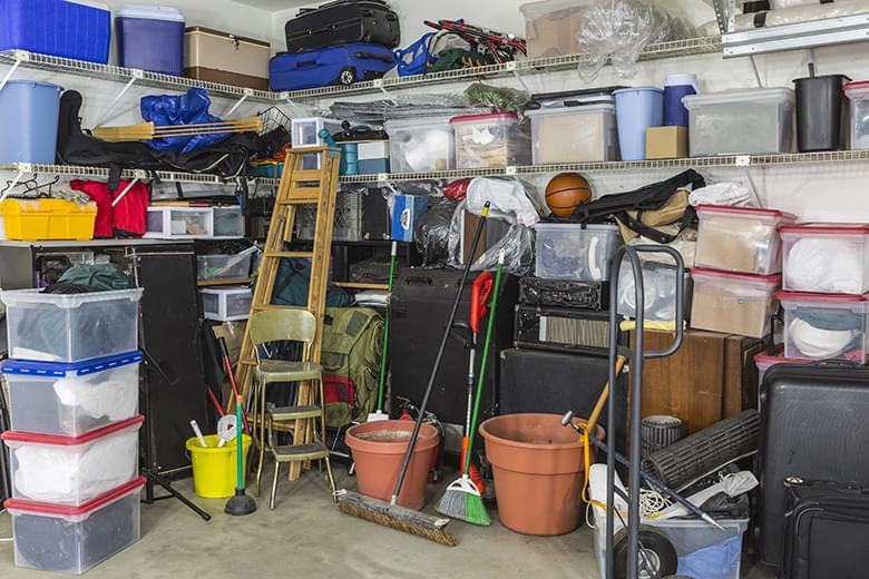 Garage Full of Junk