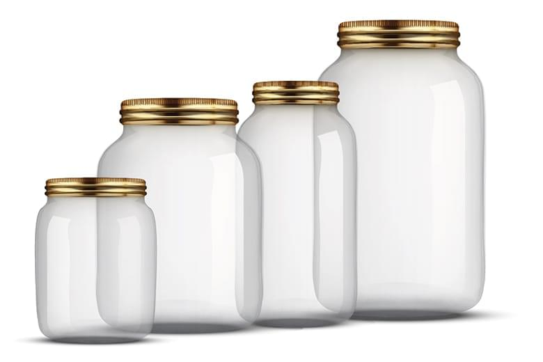 bigstock-Set-of-Glass-Jars-for-canning-101723081