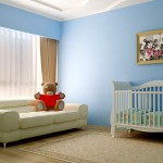 Baby Room with Blue Colors