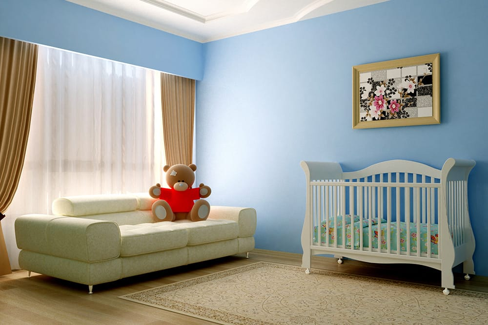 Bigstock Blue Baby Room 14304731